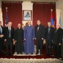 Prelate Welcomes Armenian Ecclesiastical Brotherhood Members