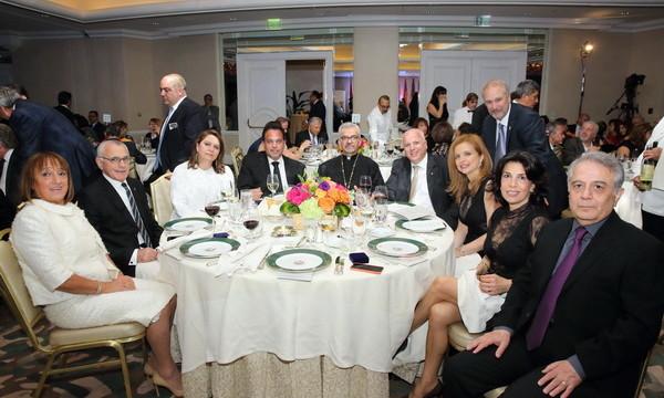 Prelate Attends ACF Annual Gala