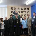 Prelate Visits Mesrobian School