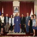 """""""New Julfa Zartonk Society"""" Members Visits the Prelacy"""
