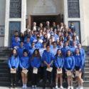 Prelate Visits Pilibos School