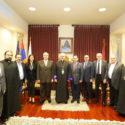 ARF Bureau Chair Hagop Der Khatchadourian Visits the Prelacy