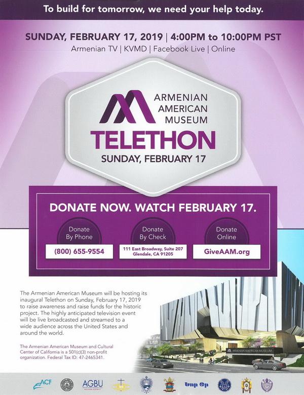 [:en]Armenian American Museum Inaugural Telethon[:hy]Հայ-ամերիկեան Թանգարամի Անդրանիկ Թելեթոնը[:]