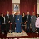 Homenetmen and Hamazkayin Central Executive Representatives Visit the Prelacy