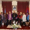 Armenian Bone Marrow Donor Registry Members Visit the Prelacy