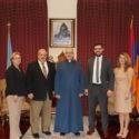 ANCA-WR Board Members Visit the Prelacy