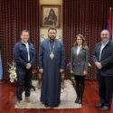 Congratulatory Visit from the Representatives  of Vahan & Anoush Chamlian Armenian School