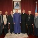 Prelate Welcomes Members of the Armenian Ecclesiastical Brotherhood