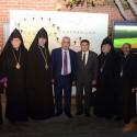 Prelate Attends Armenia Fund Telethon  Logo Unveiling Reception