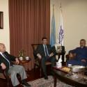 Prelate Welcomes Lebanese Consul General