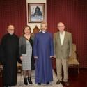 Prelate Welcomes Greek-Armenian Community Activists Mihran and Zarmine Kurdoghlian