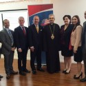 Prelate Attends Meet and Greet with Senator Darrell Steinberg