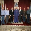 Առաջնորդ Սրբազանը Ընդունեց Հալէպահայ Ազգայիններու Այցելութիւնը