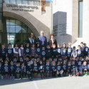 Chamlian First Grade Students Pay Christmas Visit to the Prelacy