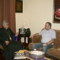 Dr. Hayk Demoyan Visits the Prelacy