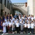 Ազգ. Մեսրոպեան Վարժարանի Աշակերտները Ս. Ծննդեան Տօնի Մթնոլորտով Ջերմացուցին Ազգ. Առաջնորդարանի Յարկը