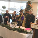 Prelate Conducts Christmas Service at Glendale Memorial Hospital