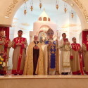 Christmas Eve Divine Liturgy at St. Sarkis Church in Pasadena