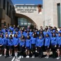 Pilibos School Eighth Grade Class Visits the Prelacy Ahead of Washington DC Trip