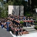 Pilibos School Students Visit the Prelacy Prior to Armenia Pilgrimage