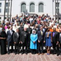 Prelate Attends Faith Meeting and Press Conference Hosted by Mayor Eric Garcetti