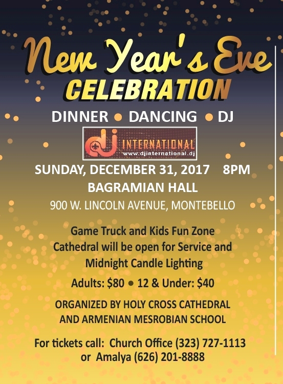 [:en]New Year's Eve Celebration[:hy]Նոր Տարուան Խրախճանք[:] @ Bagramian Hall | Montebello | California | United States
