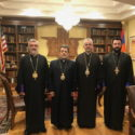 Prelate of Aleppo Pays a Courtesy Visit to the Western Diocese