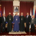 Members of the Armenian Ecclesiastical Brotherhood Pay Annual New Year Visit to the Prelacy