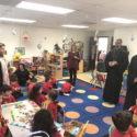Prelate Pays Easter Visit to Tavlian Pre-School