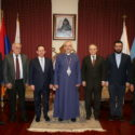 Lebanese Tourism Minister Avedis Guidanian Visits the Prelacy