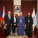 Prelate Welcomes New Consul General of Lebanon