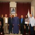 Prelate Welcomes New Interim Principal of Pilibos School
