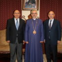 Prelate Welcomes Consul General Armen Baibourtian