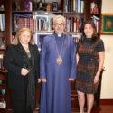 Western Prelacy and Community Sponsor Alice Navasargian Visits the Prelacy