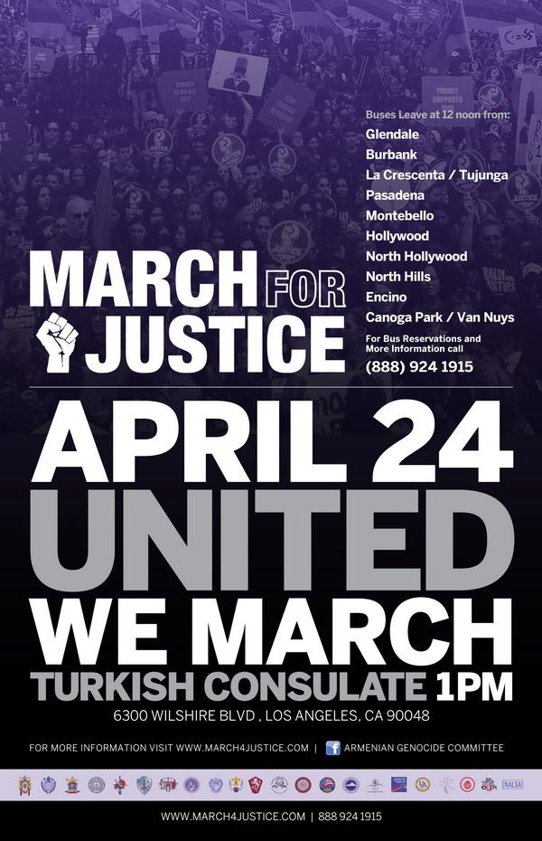 [:en]March for Justice[:hy]Արդարութեան քայլարշաւ [:] @ Turkish Consulate | Los Angeles | California | United States