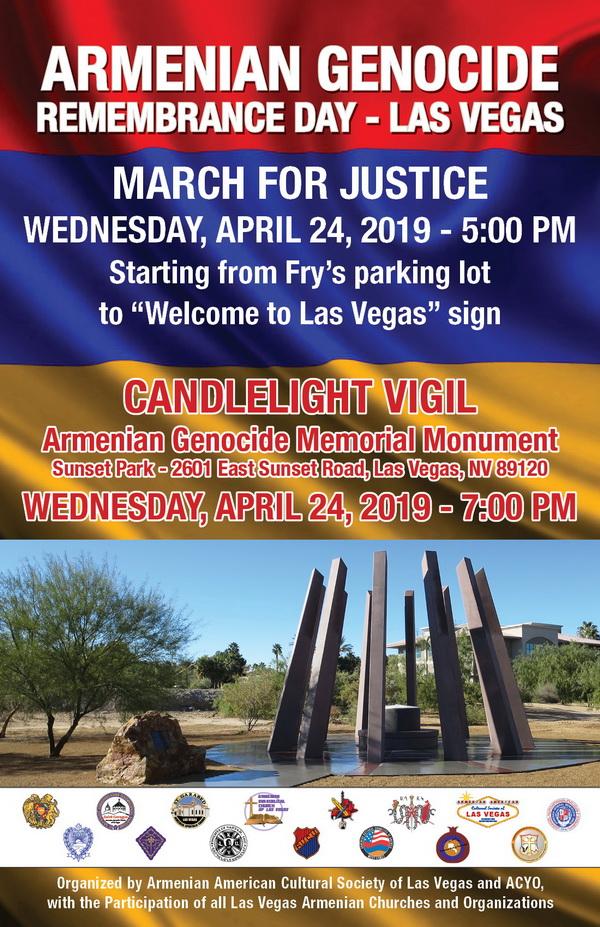 [:en]Armenian Genocide Commemoration in Las Vegas[:hy]Հայոց Ցեղասպանութեան Ոգեկոչում Լաս Վեկասի Մէջ[:] @ Sunset Park | Las Vegas | Nevada | United States