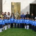 Tavlian Preschool-Kindergarten Students Pay Annual Easter Visit to the Prelacy