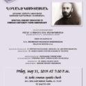 Spiritual Concert Dedicated to Gomidas Vartabed