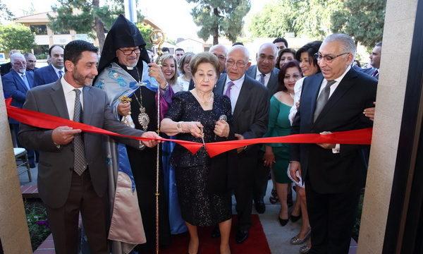 """Melkon and Angel Melkonian Armenian Center"" Naming Ceremony"
