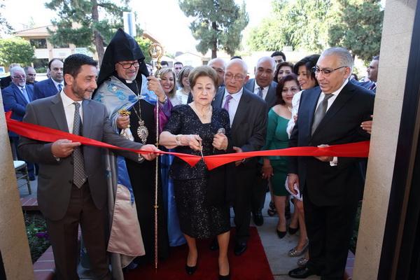 "Melkon and Angel Melkonian Armenian Center"" Naming Ceremony"