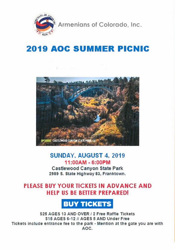 [:en]Armenian of Colorado Summer Picnic[:hy]Դաշտագնացութիւն[:] @ Castlewood Canyon State Park   Franktown   Colorado   United States