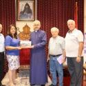 Kessab Educational Association Representatives Visit the Prelacy