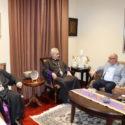 Prelate of Lebanon Visits the Western Prelacy