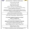 Եպիսկոպոսական Ս. Պատարագ եւ Մատաղօրհնէք Լաս Վեկասի Ս. Կարապետ Եկեղեցւոյ Անուանակոչութեան Տօնին Առիթով