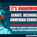 Western Prelacy Salutes Adoption of Armenian Genocide Resolution by the U.S. Senate