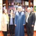 Dr. Lusine Sahakyan Visits the Prelacy