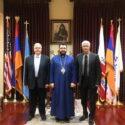 ARF Bureau Representatives Paid a Visit to the Western Prelacy