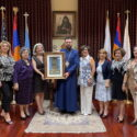 """The Prelate Welcomed the Board Members of ARS """"Mayr"""" Chapter"""