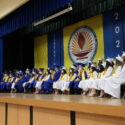 The Prelate Presided Over the Graduation Ceremony  at Holy Martyrs Ferrahian Armenian High School