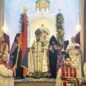 Prayers For the Republic and Blessing of the Armenian Flag on the 103rd Anniversary  of the First Republic of Armenia